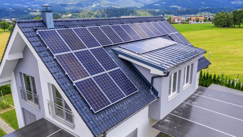 Solar-Panels-On-The-Roof-Of-The-House