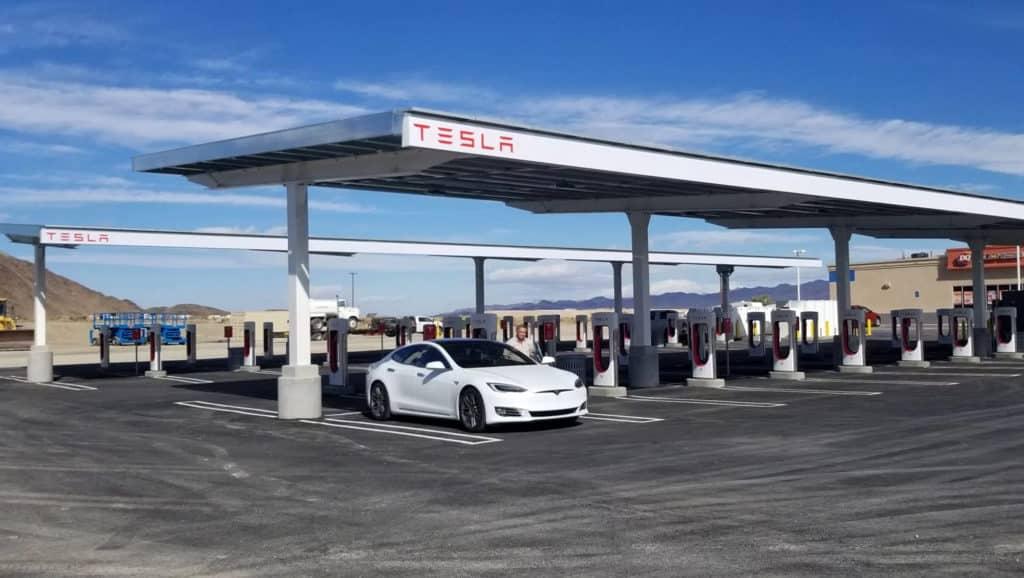 Tesla-EV-Charging-Station