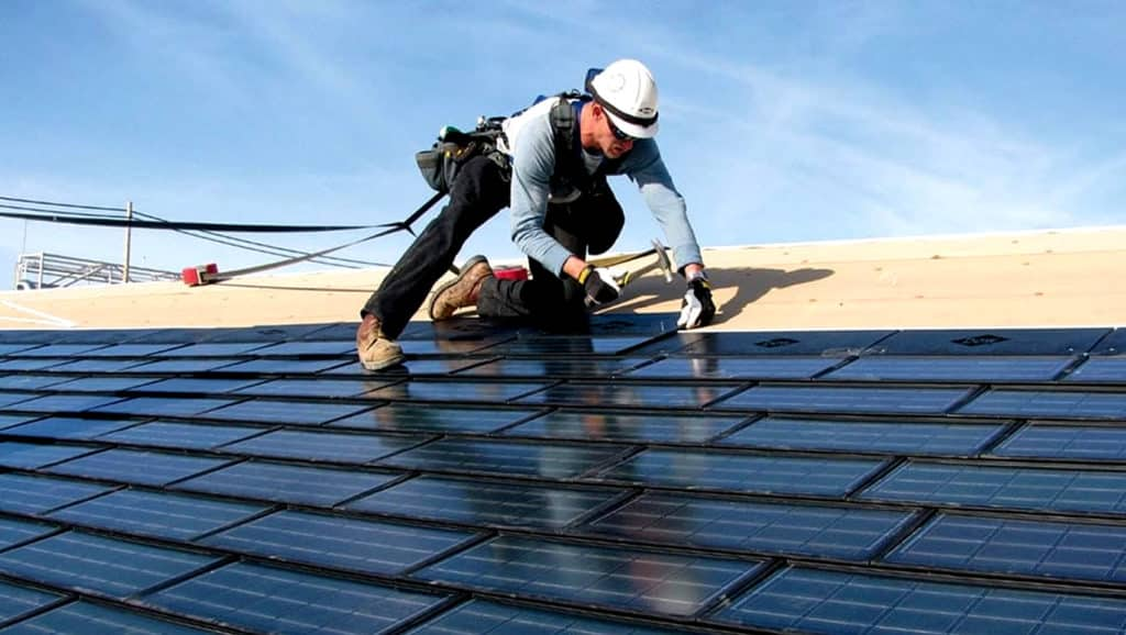 Roofing-Specialist-During-A-Working-Procedure