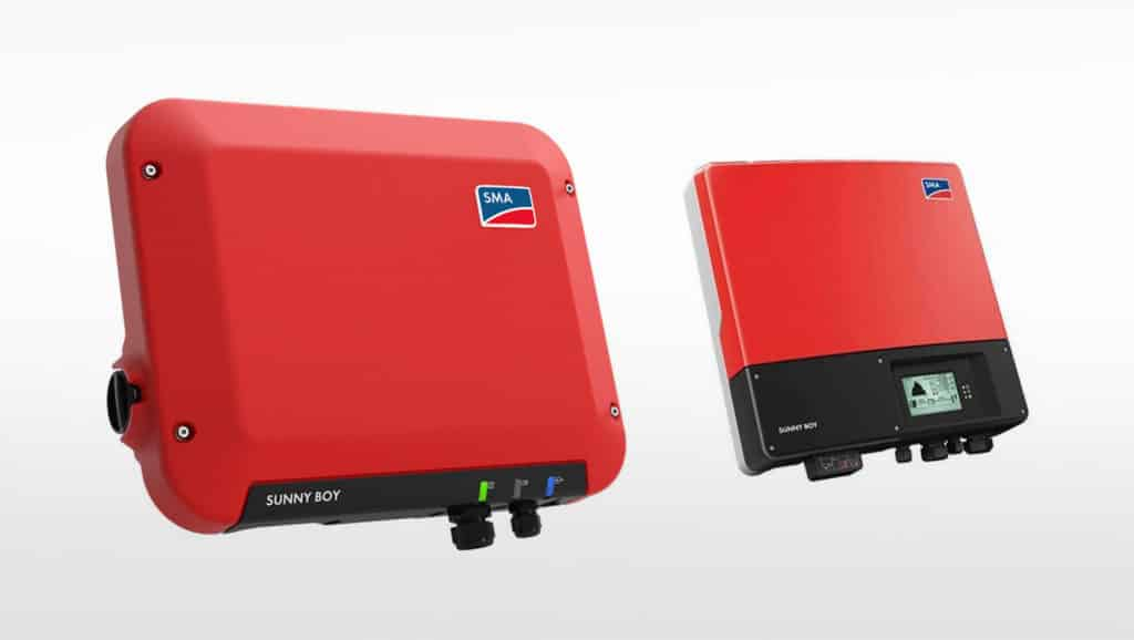 Black-And-Red-Solar-Inverters